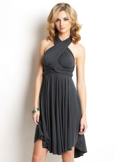 What girl doesn't need a dress that can transform into multiple styles, I WANT THIS- TART Short Infinity Dress