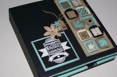 Un album qui mesure 20 x 20 cm avec les nouveaux dies Florilèges, et du Bazzill noir-kraft-vanille-beige et bleu clair :idées de décors de MANONSYLVIE: http://manosylvie.canalblog.com/archives/2015/02/09/31495422.html