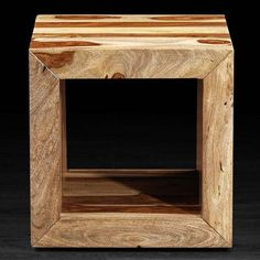 Artemano SumSum Cube Side Table Finish: Natural