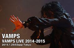 VAMPS LIVE 2014-2015 #VAMPS #VAMPSJPN #HYDE #LIVE #2014 #2015