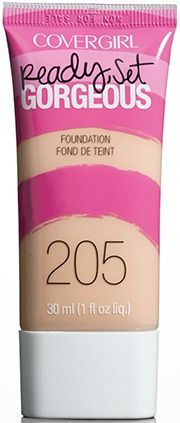 Cover girl ready set gorgeous foundation gives great coverage! Best for oily skin or normal skin