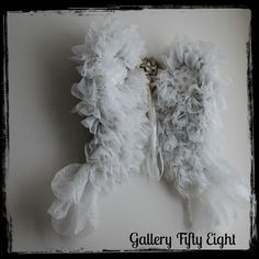 Gallery Fifty Eight: 70 Loads of Laundry Created Angel Wings  OMG who could believe this?  I bet they smell great!