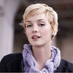 If you searching new pixie haircut pictures, we are here with unique and really stylish pixies. And here you are 20 Good Pixie Crop Hair ideas, long pixie cuts. Pixie Crop, Long Pixie, Pixie Hairstyles, Pixie Haircut, Cool Hairstyles, Haircuts, Julie Andrews, Cut My Hair, New Hair