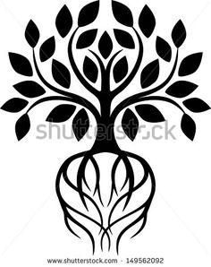 Find Tree Roots stock images in HD and millions of other royalty-free stock photos, illustrations and vectors in the Shutterstock collection. Thousands of new, high-quality pictures added every day. Tree Outline, Tree Tapestry, Draw Two, Tree Icon, Two Trees, Vector Trees, Tree Roots, One Tree, Tribal Tattoos