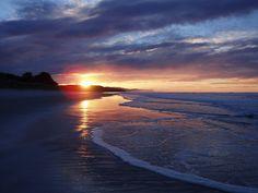 Westwood Beach, Dunedin, New Zealand. One of NZs best kept secrets - oops, secret's out...