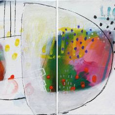 Game One Mirna Sisul #colorful #abstract #art