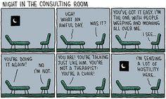 therapist humor