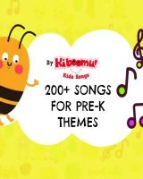200 songs for Pre-K themes on YouTube! #kidssongs #preschool