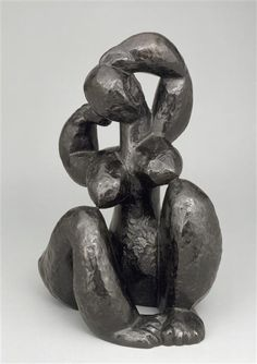 Henri Laurens, The Hair, date unknown, Bronze, National Museum of Modern Art - Georges Pompidou Center, Paris