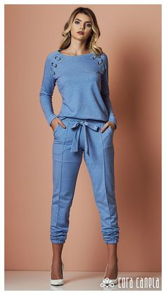 Casual Chic, Casual Wear, Casual Outfits, Cute Outfits, Vetement Fashion, Sport Outfits, Casual Looks, Dress To Impress, Lounge Wear