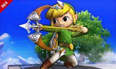 大乱闘スマッシュブラザーズ for Nintendo 3DS / Wii U:トゥーンリンク