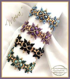 Beading Pattern: Moira Bracelet in English D.I.Y