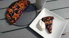 Finsk blåbärspaj (Mustikkapiirakka) | LCHF-Arkivet LCHF-Arkivet Lchf, Keto, Fika, Banana Bread, French Toast, Low Carb, Sweets, Finland, Breakfast