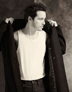 Andrew Scott Topman generation fashion shoot, click for interview