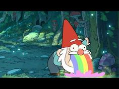 It's a Gnome Puking Rainbows
