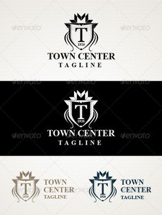 Town Logo by guark Full editable vector file. Included Ai, Eps (CS). Used System Font. Thanks.