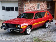 """1979 Ford Pinto """"Cruiser"""" (the embodiment of the Disco Era) you know, you just never see these anymore."""