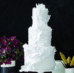 This dreamy, Swan Lake-inspired cake. | 25 Incredibly Beautiful Wedding Cakes That Won 2015