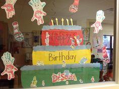 dr. Seuss prek unit: window display