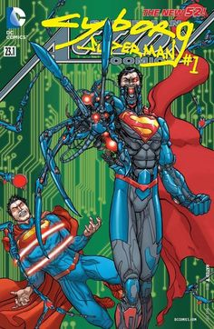 Deep in space sits a cybernetic force of evil unlike any other. What terrible connection does Cyborg Superman share with Krypton? And what alien force commands the robotic terror?