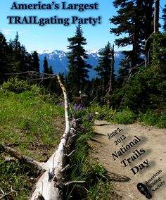 Join the Party! June 2, 2012 #NationalTrailsDay