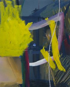 Gerhard Richter- Flatter than the others, but I love the furious splash of colour. Angry. Unexpected. A mess maybe.