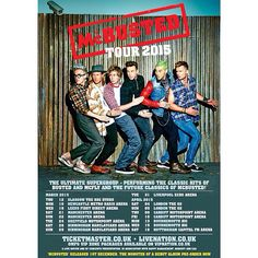 McBusted tour poster It was AMAZING especially on the first ever show! Newcastle Metro, Tour Posters, Movie Posters, Busted Band, Star Girl, Glasgow, Liverpool, Tours, Entertaining