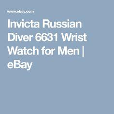 Invicta Russian Diver 6631 Wrist Watch for Men | eBay