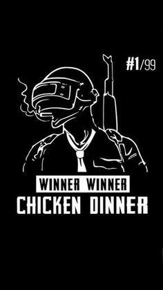 Winner Chicken Dinner PlayerUnknown's Battlegrounds (PUBG) HD Mobile Wallpaper. #PUBG