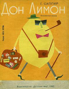 Business Lemon, vintage Russian children book, via @Shelly Figueroa Priebe & Correct