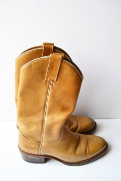 sendra botas de cuero para hombre por Limbhad en Etsy