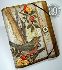 Botanical-Themed Collection Folio - Annettes Creative Journey