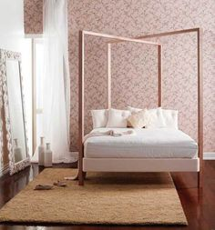 Modern Design Four Poster Bed