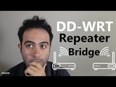 Extend your WiFi range using an Old Wireless Router (DD-WRT Repeater Bridge) Wireless Router, Wifi Router, Stark, Texts, Bridge, Messages, Macbook, Dyi, Youtube