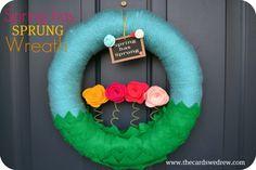 SpringHasSprungWreath