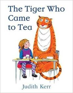 #Children's_Stories. The tiger who came to tea. When the doorbell rings unexpectedly one afternoon, Sophie and her mummy can't imagine who might be there. Much to their surprise, a tiger with a very large appetite has come to tea! What will they tell Daddy when he returns home and finds all the cupboards bare?
