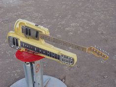Guit-Steel - Stevens Guitars - Electric Guitars, Basses and Mandolins by Michael Stevens, Alpine, Texas