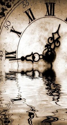 Startonight Canvas Wall Art Abstract Black and White Clock Abstract USA Design for Home Decor Dual View Surprise Wall Art 315 X 472 Inch 100 Original Art Painting * For more information, visit image link. Father Time, Arte Obscura, Old Clocks, Rustic Clocks, Time Clock, Time Warp, Foto Art, Jolie Photo, Pics Art
