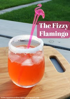 Mixed Drink Monday: The Fizzy Flamingo