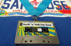 DAMN! I wanna run this race just for the medal...SICK! San Jose Rock 'n' Roll Marathon: October 7, 2012