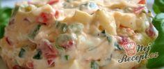 Recept Hermelínovo rajčatová pomazánka Fingerfood Party, Party Finger Foods, Potato Salad, Mashed Potatoes, Food And Drink, Ethnic Recipes, Top Recipes, Gourmet Foods, Whipped Potatoes