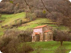 Santa Cristina de Lena, prerrománico asturiano Lena #Asturias // Santa Cristina de Lena, Asturian Pre-romanesque in Lena #Asturias