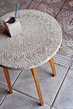 Cool idea for concrete (or other medium?) to make