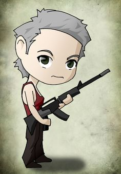 Chibi Art The Walking Dead: Carol by issue53.deviantart.com on @deviantART