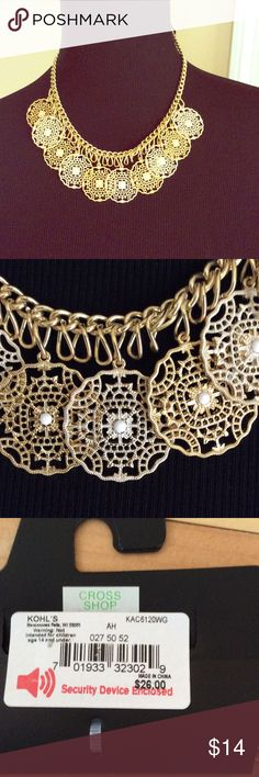 Gold Tone Apt 9 Necklace NWT New with tag gold tone Apt 9 necklace. Apt. 9 Jewelry Necklaces