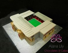 West Ham Stadium cake - Cake by Alana Lily Chocolates & Cakes