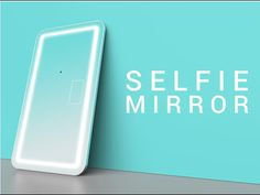 Selfie Mirror is also a Smart Mirror Visualising, Built In Speakers, Tracking System, Brushing, Creative Thinking, Smart Home, First World, Gadget, Techno