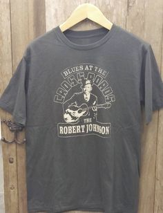 This item is unavailable Vintage Band T Shirts, Robert Johnson, Marketing And Advertising, Blues, My Etsy Shop, Trending Outfits, Check, Mens Tops, Shopping
