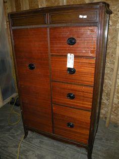Antique Bedroom Furniture Refinished Golden Oak Washstand Dresser Antique Bedroom Furniture