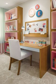 Click in the image to find more kids bedroom inspirations with Circu Magical Furniture! Be amazed with Circu Magical furniture and their luxury design: CIRCU. Girl Room, Girls Bedroom, Bedroom Decor, Room Interior Design, Interior Modern, New Room, Home Office, Sweet Home, House Design